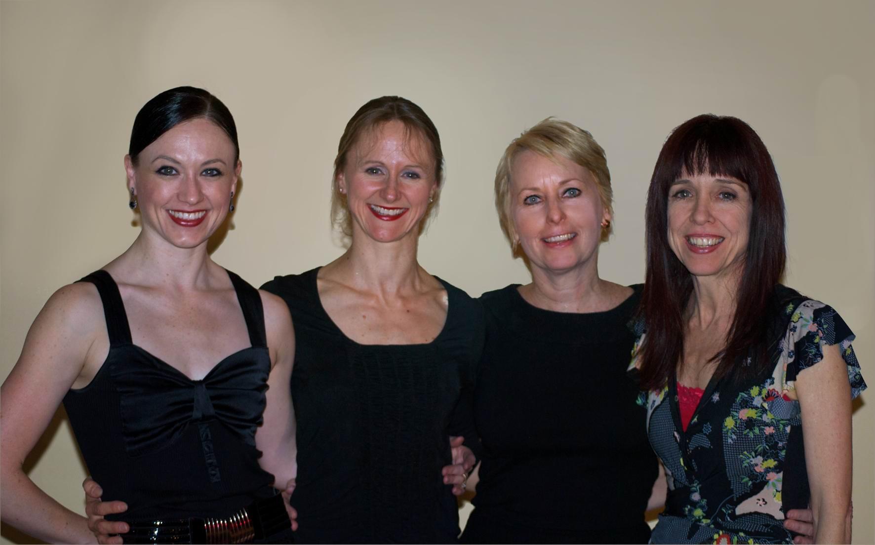 4 ballerinas Principals