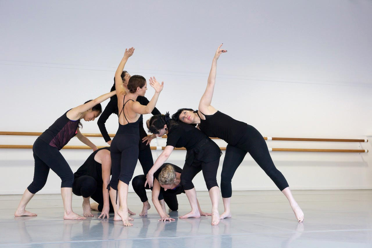 Contemporary class performance 10th Anniversary