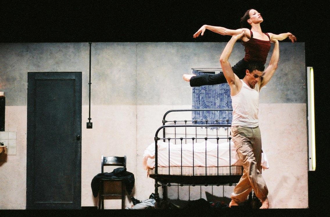 Larissa Fletcher Principal Role Carmen with Graham Fletcher Carmen, Didy Veldman, 1999 Northern Ballet Theatre