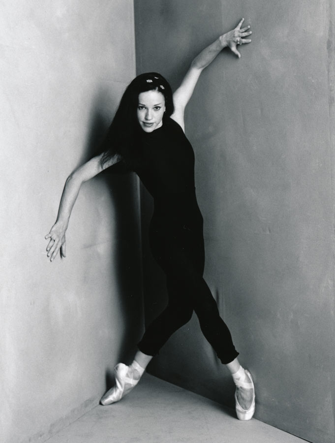 Larissa Fletcher Studio Shoot for Program 1996