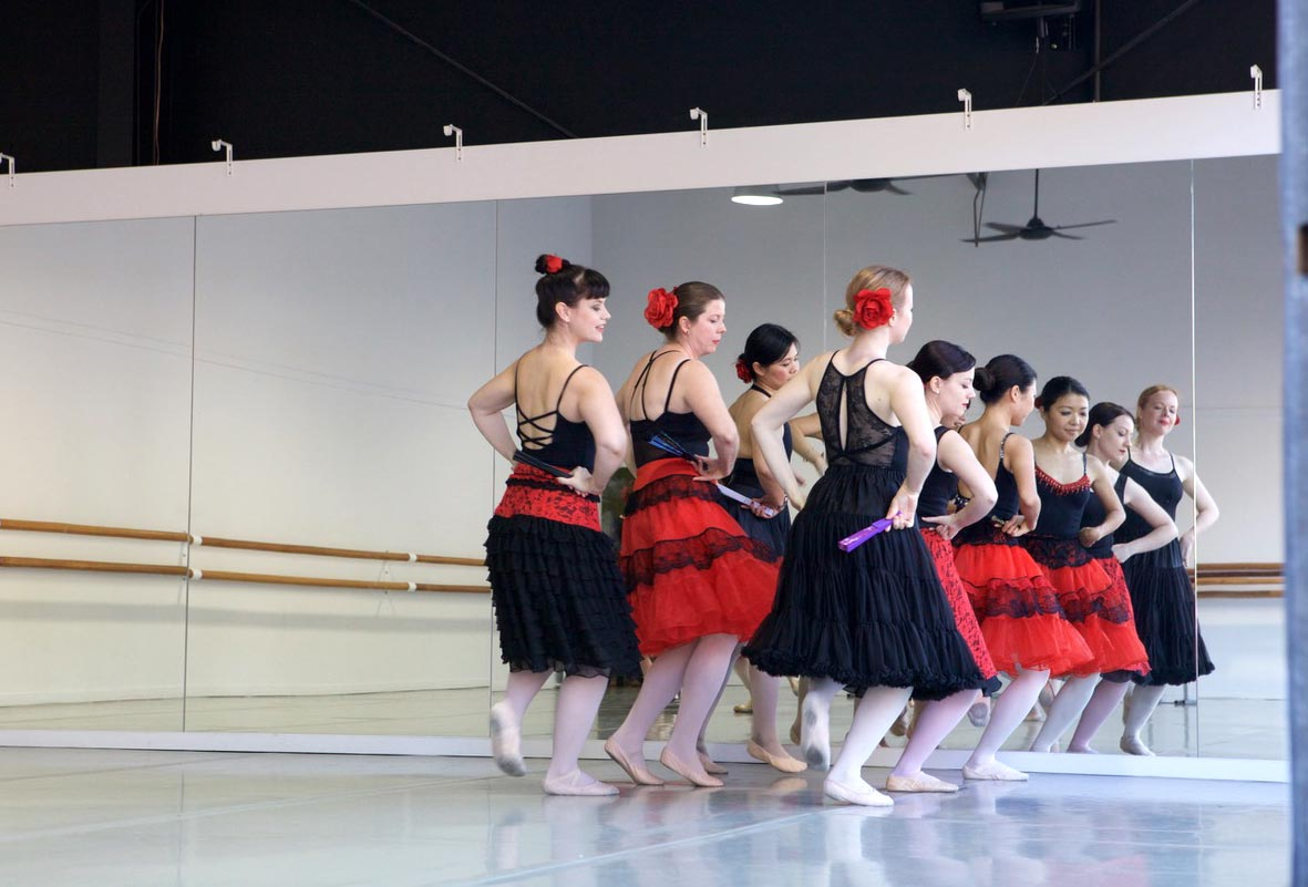 Repertoire class at 10th Anniversary