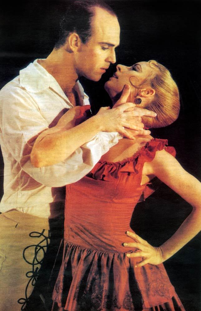 Michelle White: Carmen, with Dale Johnston, 1993