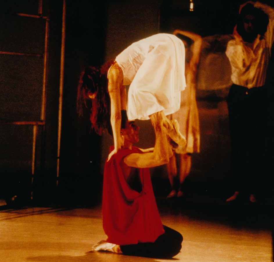 Graham Fletcher Principal Role Jason with Rosetta Cook Medea, Natalie Weir 2002 Queensland Ballet