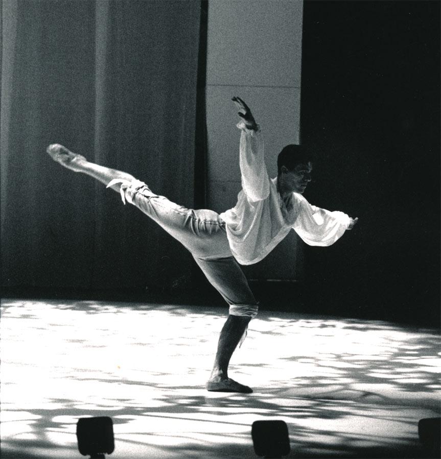 Principal Role Ferdinand The Tempest, Jacqui Carrol, 1993 Queensland Ballet